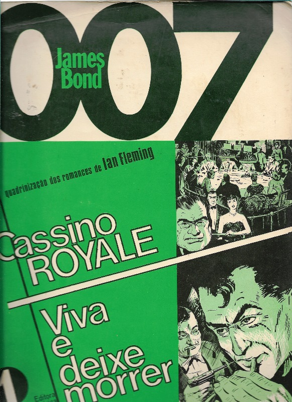 007 JAMES BOND - CASSINO ROYALE - EBAL - 1978