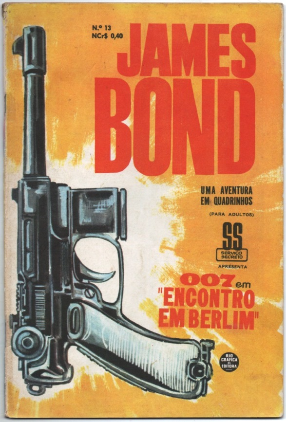 JAMES BOND nº13 - EDITORA RGE