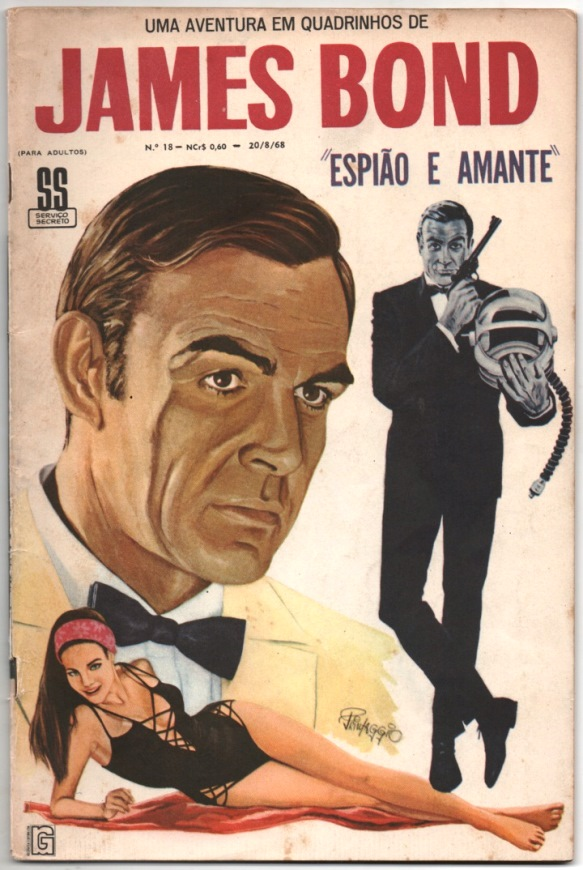 JAMES BOND nº18 - EDITORA RGE