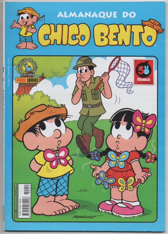 ALMANAQUE DO CHICO BENTO nº042 - EDITORA PANINI