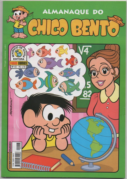 ALMANAQUE DO CHICO BENTO nº043 - EDITORA PANINI