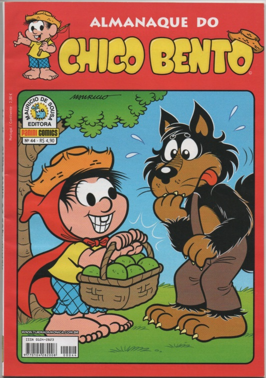 ALMANAQUE DO CHICO BENTO nº044 - EDITORA PANINI