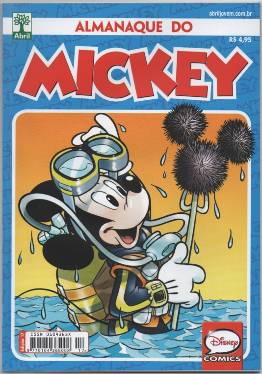 ALMANAQUE DO MICKEY - 2ª SÉRIE nº17 - EDITORA ABRIL