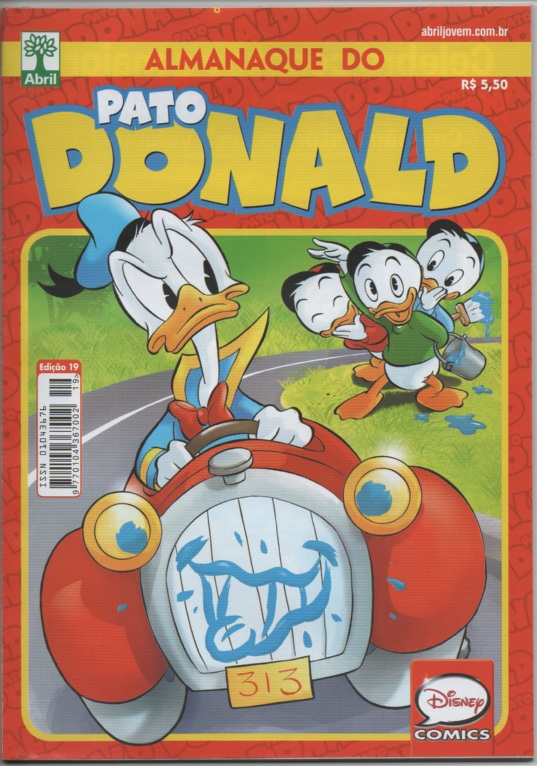 ALMANAQUE DO PATO DONALD - 2ª SÉRIE  nº19 - ED. ABRIL