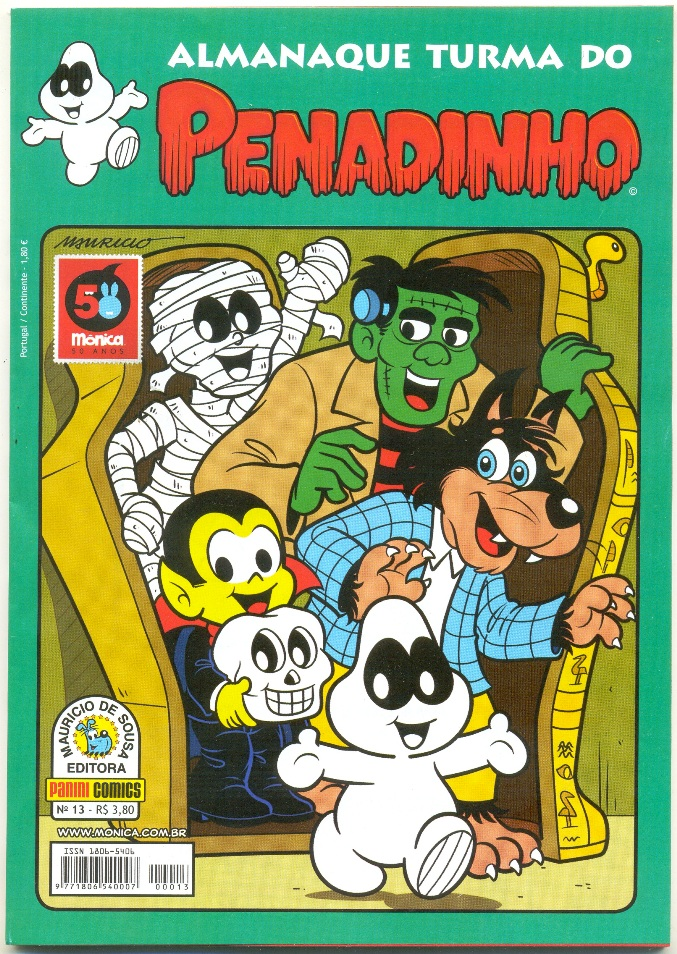 ALMANAQUE TURMA DO PENADINHO n°13 - EDITORA PANINI