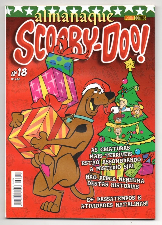 ALMANAQUE DO SCOOBY-DOO! nº18 - EDITORA PANINI