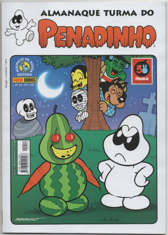 ALMANAQUE TURMA DO PENADINHO n°14 - EDITORA PANINI