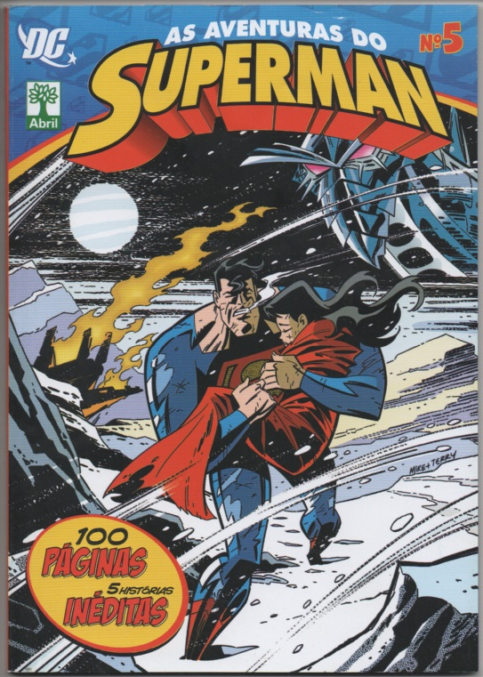 AS AVENTURAS DO SUPERMAN nº05 - EDITORA ABRIL