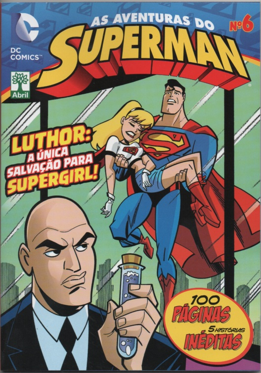 AS AVENTURAS DO SUPERMAN nº06 - EDITORA ABRIL