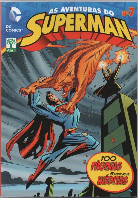 AS AVENTURAS DO SUPERMAN nº07 - EDITORA ABRIL