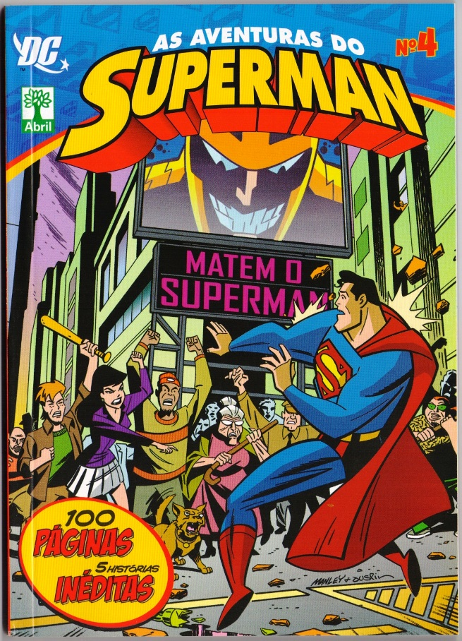 AS AVENTURAS DO SUPERMAN nº04 - EDITORA ABRIL