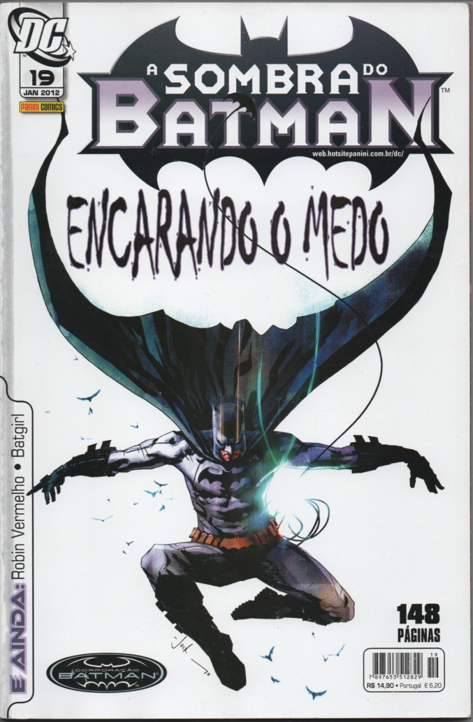 A SOMBRA DO BATMAN nº19 - EDITORA PANINI