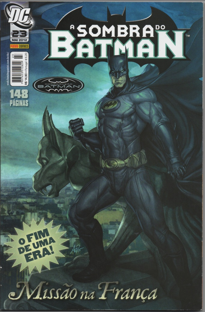 A SOMBRA DO BATMAN nº23 - EDITORA PANINI
