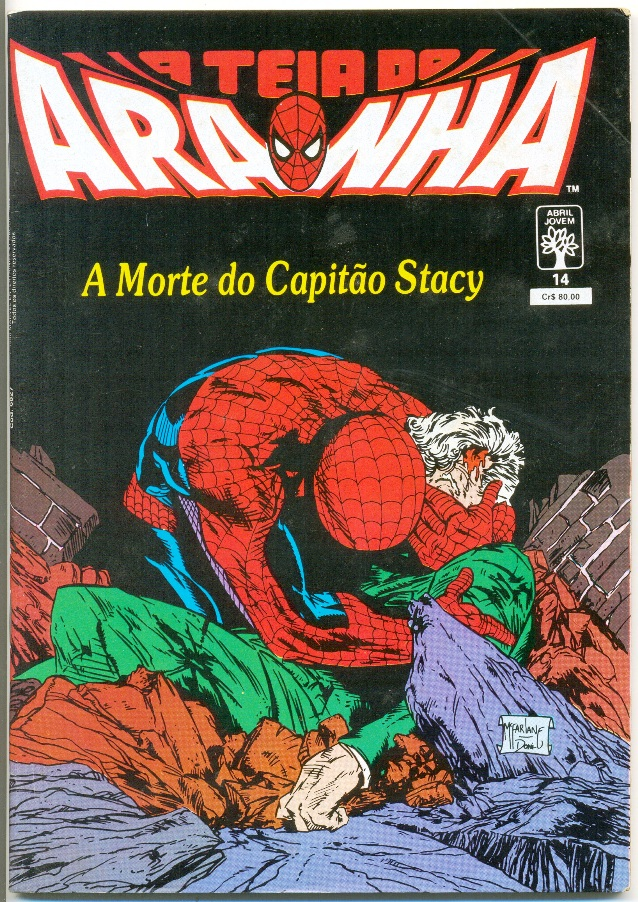 A TEIA DO ARANHA n°014 - EDITORA ABRIL