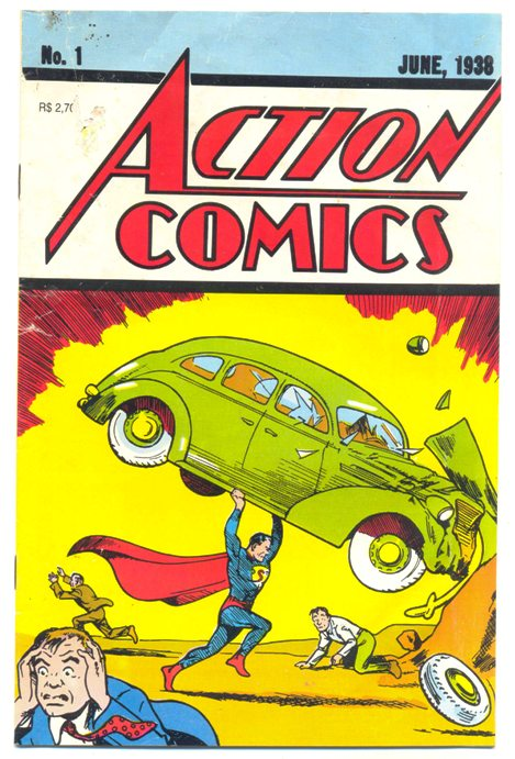 ACTION COMICS FAC-SIMILE - ED. ABRIL