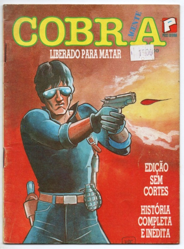 AGENTE COBRA nº01 - EDITORA PRESS