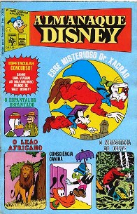 ALMANAQUE DISNEY nº011 - EDITORA ABRIL