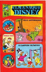 ALMANAQUE DISNEY nº015 - EDITORA ABRIL