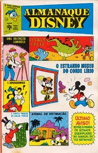 ALMANAQUE DISNEY nº016 - EDITORA ABRIL