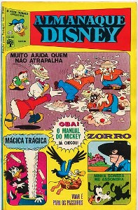 ALMANAQUE DISNEY nº022 - EDITORA ABRIL