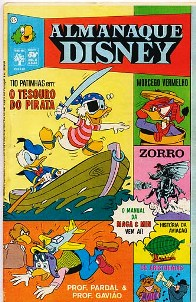 ALMANAQUE DISNEY nº025 - EDITORA ABRIL