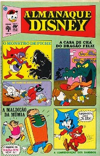 ALMANAQUE DISNEY nº026 - EDITORA ABRIL