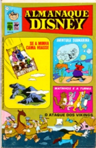 ALMANAQUE DISNEY nº031 - EDITORA ABRIL