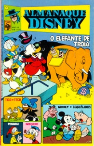ALMANAQUE DISNEY nº075 - EDITORA ABRIL