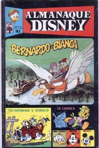 ALMANAQUE DISNEY nº091 - EDITORA ABRIL