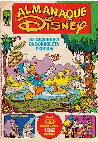ALMANAQUE DISNEY nº133 - EDITORA ABRIL