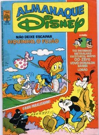 ALMANAQUE DISNEY nº134 - EDITORA ABRIL
