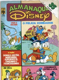 ALMANAQUE DISNEY nº154 - EDITORA ABRIL