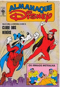 ALMANAQUE DISNEY nº194 - EDITORA ABRIL