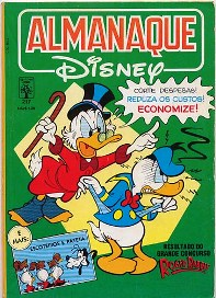 ALMANAQUE DISNEY nº217 - EDITORA ABRIL