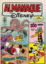 ALMANAQUE DISNEY nº224 - EDITORA ABRIL