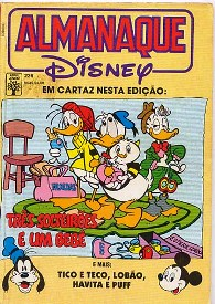 ALMANAQUE DISNEY nº226 - EDITORA ABRIL
