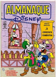 ALMANAQUE DISNEY nº228 - EDITORA ABRIL