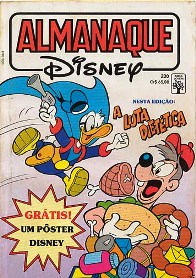 ALMANAQUE DISNEY nº230 - EDITORA ABRIL