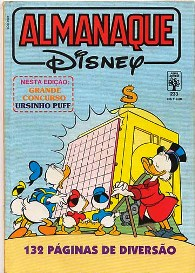 ALMANAQUE DISNEY nº233 - EDITORA ABRIL