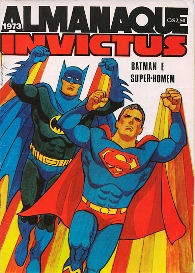 ALMANAQUE INVICTUS (BATMAN E SUPERMAN) 1973 - EBAL