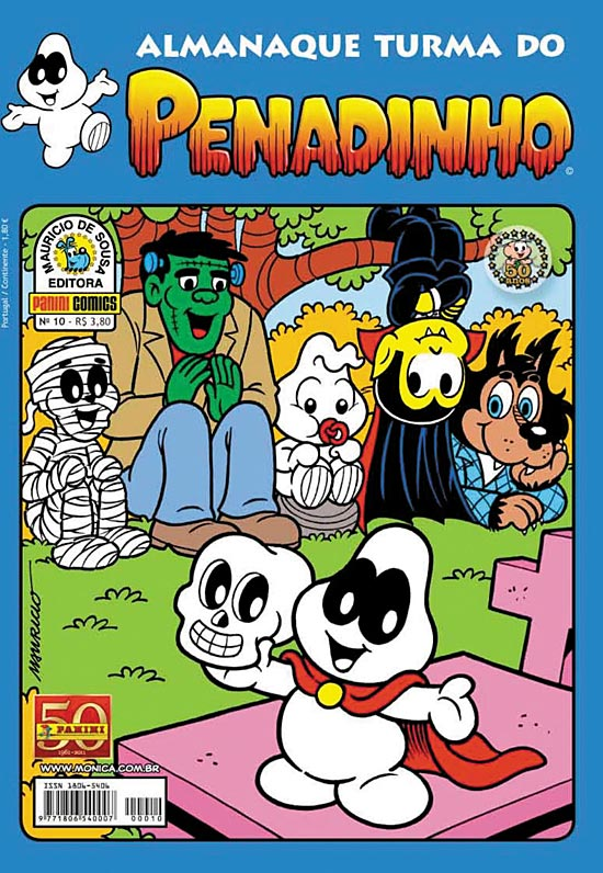 ALMANAQUE TURMA DO PENADINHO n°10 - EDITORA PANINI