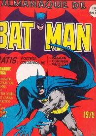 ALMANAQUE DO BATMAN DE 1975 - EBAL - FORMATO GIGANTE
