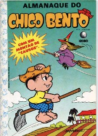 ALMANAQUE DO CHICO BENTO nº02 - EDITORA GLOBO