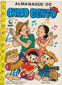 ALMANAQUE DO CHICO BENTO nº03 - EDITORA GLOBO