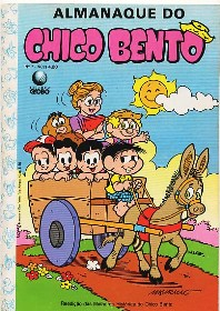 ALMANAQUE DO CHICO BENTO nº07 - EDITORA GLOBO