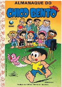 ALMANAQUE DO CHICO BENTO nº08 - EDITORA GLOBO