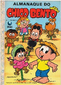 ALMANAQUE DO CHICO BENTO nº15 - EDITORA GLOBO