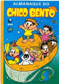 ALMANAQUE DO CHICO BENTO nº17 - EDITORA GLOBO