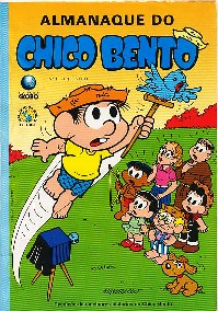 ALMANAQUE DO CHICO BENTO nº19 - EDITORA GLOBO