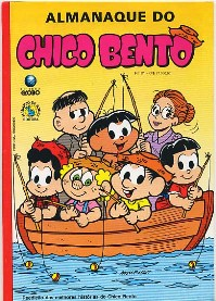ALMANAQUE DO CHICO BENTO nº21 - EDITORA GLOBO